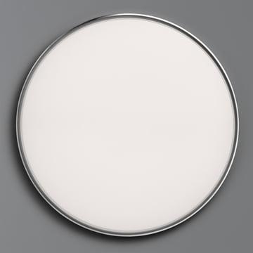 Flos - Clara Wand- und Deckenleuchte LED, weiss mit Dekoring Chrom
