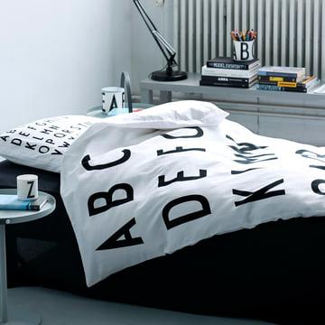 Design Letters - ABC Bettwäsche 140 x 200 cm (DK)
