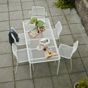 Mira Tisch und Stuhl Gruppe für den Garten
