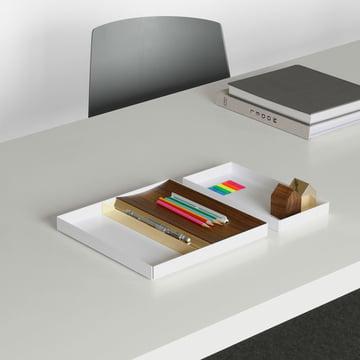 Elegante Schreibtischablage