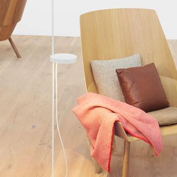Holz und Stoff - eine gemütliche Kombination