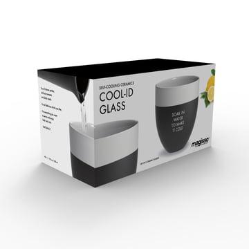 Magisso - Cool-ID Wasserglas (2er-Set) Verpackung