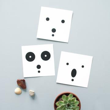 snug.bears art print 3er-Set von Snug.studio