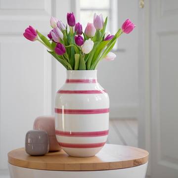 Keramik-Vase für Tulplen