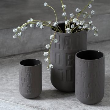 Keramikvasen in drei Grössen