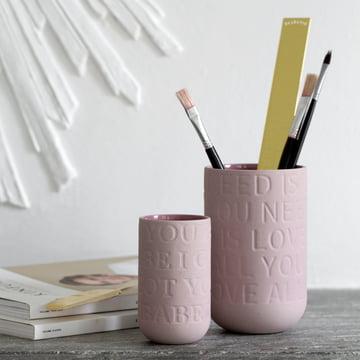 Vasen als Pinsel- oder Stifthalter