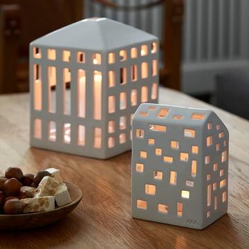 Kerzenschein im Winter von Kähler Design