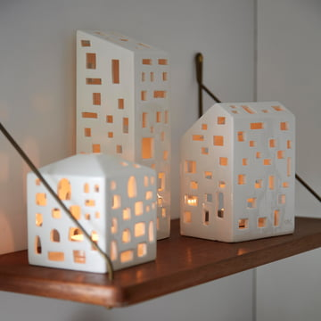 Urbania Teelichthäuser von Kähler Design