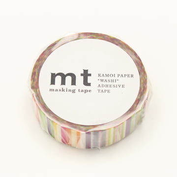 Masking tape - 1P Deco Series Multi Border Vivid