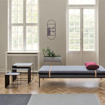 Kelim Rug Section von ferm living mit der Outline Wanddekoration