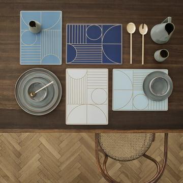 ferm Living - Outline Dinner Mat