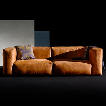 Das Hey Mags Soft Sofa in Leder Cognac