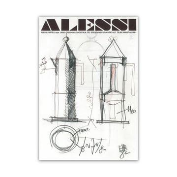 """Alessi """"La Conica"""" Espresso Kocher Gruppe"""