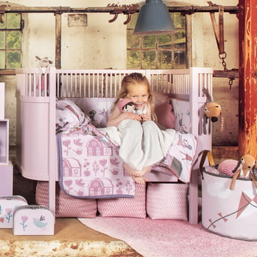 Kollektion Farm von Sebra für Mädchen mit dem Kili Bett