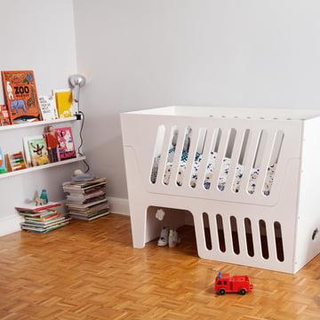 Lange Nutzungsdauer des Rocky Baby- und Kinderbettes