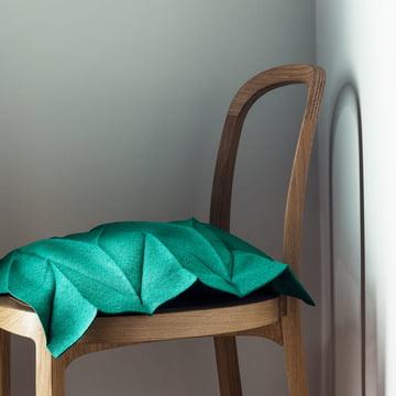 Iittala X Issey Miyake - Kissenbezug 35 x 35 cm smaragdgrün