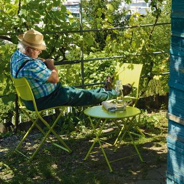 Tom Pouce Tisch und Plein Air Stuhl von Fermob