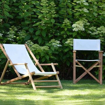 Deckchair Teakholz von Jan Kurtz