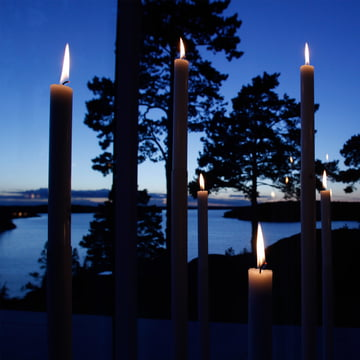 Minimalistischer Kerzenhalter