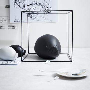 Die Roro Collection in schwarz und weiss von Rosenthal