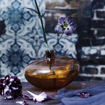 Die Rosenthal - Swinging Vase in der Farbe amber