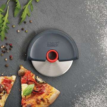 Der handliche Disc Pizzaschneider