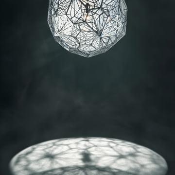 Etch Web Pendelleuchte von Tom Dixon aus Edelstahl