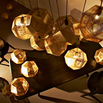 Tom Dixon - Etch Pendelleuchte, Messing