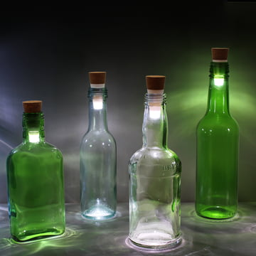 Bottle Light LED Flaschenlicht von Suck Uk
