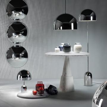 Bell Leuchten Kollektion von Tom Dixon