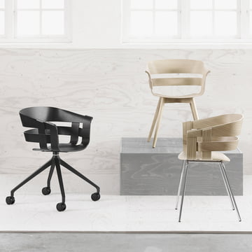 Der Wick Chair Wood von Design House Stockholm