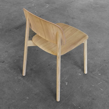 Der Hay - Soft Edge Stuhl in Eiche matt lackiert