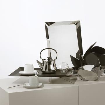 Ovale und Cha für Tee von Alessi