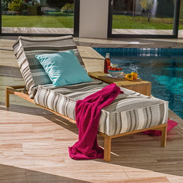 Liege für Wohnzimmer, Hotel-Lobby oder Terrasse