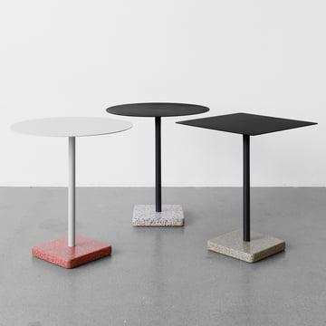 Der Hay - Terrazzo Tisch in quadratisch und rund