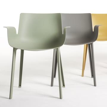 Ergonomisch geformte Sitzfläche