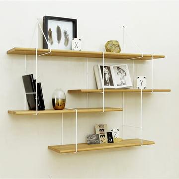 Studio Hausen - Link Setup 1, Eiche natur / weiss