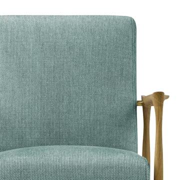 Sitzfläche und Armstützen des Floating Sessels
