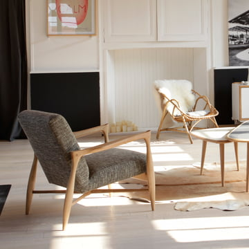 red edition - Floating Armchair, Chiné beige dunkel