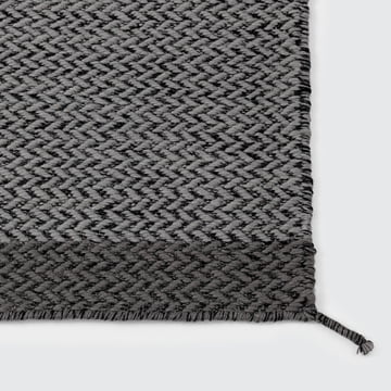 Muuto - Ply Rug, Teppich, dunkelgrau