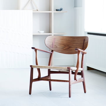Carl Hansen - CH22, Eiche-Walnuss-Mix
