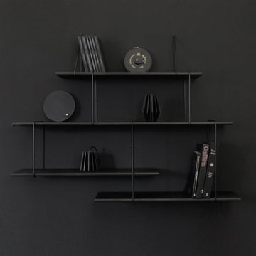 Link True Black Regalsystem von Studio Hausen