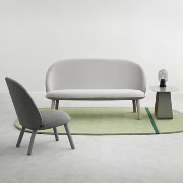 Ace Sofa Nist und Lounge Chair Nist von Normann Copenhagen