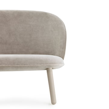 Ace Sofa Velour von Normann Copenhagen in Beige