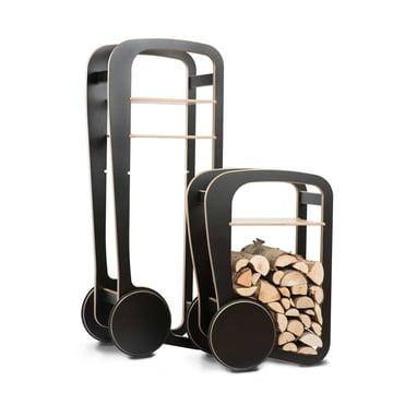 Fleimio design: Wood Trolley und Wood Trolley Mini