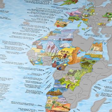 Travelmap/Bucketlist zum scratchen