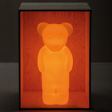 Lumibär-Lampe in Gelb-Orange von Authentics
