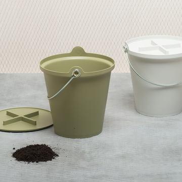 Authentics H2O Eimer - Mülleimer, Wischeimer, Aufbewahrungsbox