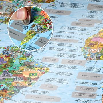 WTFact Map mit Silberfolie