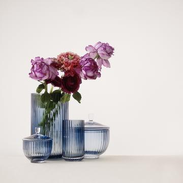 Glasvase von Lyngby Porcelæn